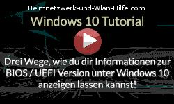 Informationen zur BIOS / UEFI Version unter Windows 10 anzeigen lassen! - Youtube Video Windows 10 Tutorial