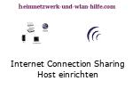 Internet Connection Sharing  (ICS)- Host Computer einrichten