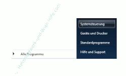 Windows Anleitungen und Tutorials: Reaktivierungskennwort des Windows 7 Ruhezustandes deaktivieren - Windows 7 Startmenü Systemsteuerung