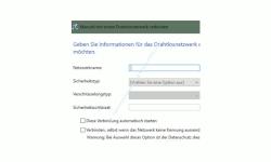Windows 10 Netzwerk Tutorial - Problem: Wlan-Netzwerk wird nicht angezeigt! – Konfigurationsfenster: Manuell mit einem Drahtlosnetzwerk verbinden