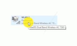 Windows 10 Netzwerk Tutorial - Woran kann es liegen, dass keine Wlan-Netzwerke angezeigt werden? - Konfigurationsfenster Netzwerkverbindungen: Deaktivierte Wlan-Netzwerkverbindung