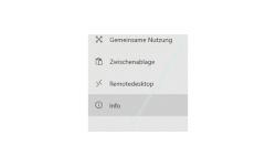 Windows 10 Tutorial - Den Computernamen ändern - Konfigurationsfenster System Menüpunkt Info