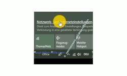 Windows 10 Netzwerk Tutorial - Probleme bei der Einwahl in ein Wlan-Netzwerk lösen! – Link Netzwerk- und Interneteinstellungen, um die Netzwerkeinstellungen zu öffnen