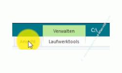 Windows 10 Tutorial - Versteckte Elemente und Dateien im Windows Explorer anzeigen lassen! - Menü Ansicht zur Anzeige der erweiterten Ansichten und Optionen markieren