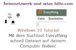 Windows 10 Tutorial - Mit dem Suchtool Everything schnell Dateien auf deinem Computer finden!