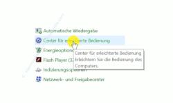 Windows 10 Tutorial - Ein Fenster durch Zeigen mit der Maus aktivieren! - Systemsteuerung: Kategorie Center für erleichterte Bedienung