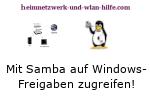 Mit Samba auf Windows Freigaben zugreifen