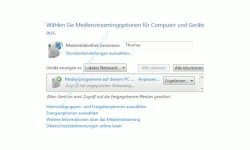 Heimnetzwerk Anleitungen: Multimedia im Windows 7 Heimnetzwerk – Medienstreaming-Optionen anpassen