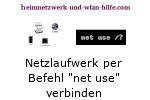 Netzlaufwerk mit net use verbinden