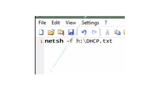 Zwischen verschiedenen Netzwerkeinstellungen wechseln – Der Netsh Befehl in einer Batch-Datei