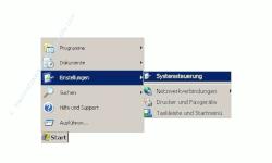 Netzwerk-Anleitung: Netzwerkkarte Netzwerkadapter einrichten und konfigurieren - Start, Einstellungen, Systemsteuerung