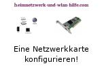 Netzwerkkarte konfigurieren und Änderungen vornehmen