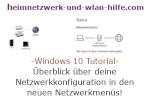 Windows 10 Netzwerk Tutorial - Überblick über deine Netzwerkkonfiguration in den neuen Netzwerkkonfigurationsmenüs!