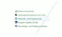 Heimnetzwerk Tutorial: Netzwerkverbindung per Doppelklick beenden oder starten - Windows 7 Netzwerk- und Freigabecenter
