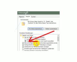 Windows 10 Tutorial - Bannerwerbung im Explorer abschalten - Optionsbox für die Konfiguration Benachrichtigungen des Synchronisierungsanbieters anzeigen
