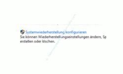 Windows 10 Tutorial - Systemwiederherstellungspunkte löschen – Option Systemwiederherstellung konfigurieren