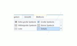 Windows 10 Tutorial - Die Standardansicht von Ordnern im Explorer individuell anpassen! - Ordner Ansichtsoptionen, die über das Menü Ansicht im Explorer eingestellt werden können