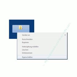 Windows Tutorial: Windows 7 Ordner auf dem Desktop verstecken - Windows 7 Ordner Eigenschaften