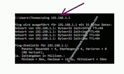 Mit Ping und Ipconfig Ursachen für Probleme im Netzwerk finden – Ping an eine IP-Adresse