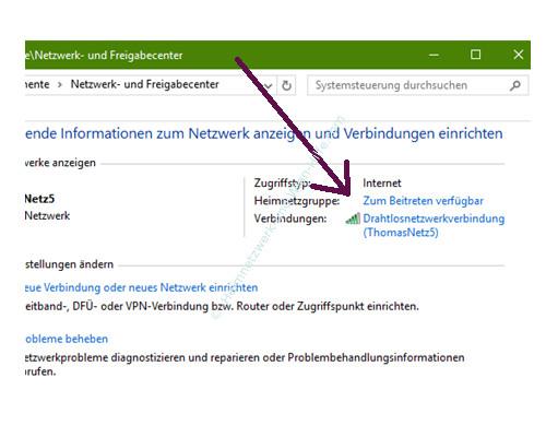 Mit Ping und Ipconfig Ursachen für Probleme im Netzwerk finden – Die Meldung – Heimnetzgruppe zum Beitreten verfügbar