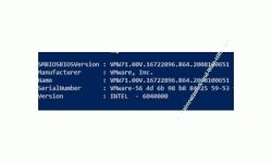 Windows 10 Tutorial - Drei Wege, Informationen zur BIOS / UEFI Version anzeigen zu lassen! - PowerShell Ausgabe der Bios-Versionsinformationen
