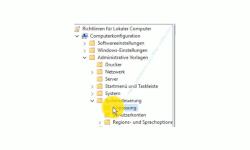 Windows 10 Tutorial - Den Sperrbildschirm abschalten bzw. deaktivieren - Richtlinien Hierarchie Computerkonfiguration Administrative Vorlage Systemsteuerung Anpassung
