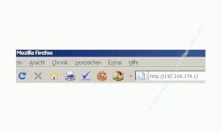 Netzwerk-Tutorial: Auf die Router-Konfiguration zugreifen! IP-Adresse in Browser Adresszeile eingeben