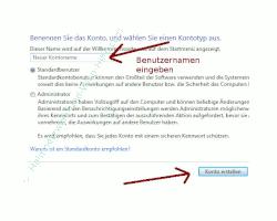 Heimnetzwerk Tutorial: Sichere Windows-Freigaben verwenden - Windows 7 Benutzerkontenverwaltung - Benutzernamen festlegen und Benutzerkonto erstellen