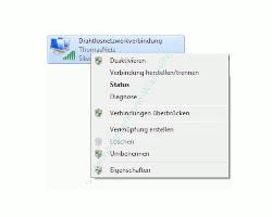 Heimnetzwerk Tutorial: Sichere Windows-Freigaben verwenden - Windows 7 - Eigenschaften des Netzwerkadapters