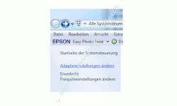 Heimnetzwerk Tutorial: Sichere Windows-Freigaben verwenden - Windows 7 - Systemsteuerung - Netzwerk- und Freigabecenter - Adaptereinstellungen ändern