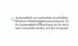Windows 10 Tutorial - Wichtige Daten mit Windows-Bordmitteln ohne zusätzliches Backup-Programm sichern! - Sicherungsoption: Systemabbild auf Laufwerken einschließen