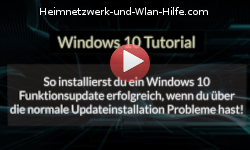 So installierst du ein Windows 10 Funktionsupdate erfolgreich, wenn du über die normale Updateinstallation Probleme hast! - Youtube Video Windows 10 Tutorial