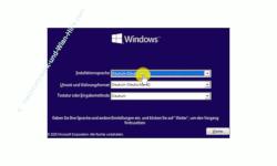 Windows 10 Tutorial - Windows Benutzerkonto gesperrt Passwort vergessen Kennwort hacken und Admin-Rechte erhalten! - Start von Windows 10 DVD Auswahl der Installationssprache