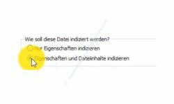 Windows 10 Tutorial - Suche über die Konfiguration der Indizierungsoptionen beschleunigen! - Den Suchindex so konfigurieren, dass auch Dateiinhalte indiziert werden