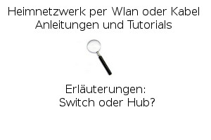 Switch oder Hub?