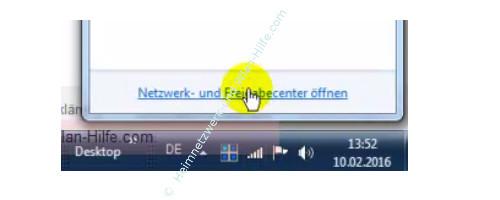 TP-Link Archer VR900v - Der Router, seine Anschlüsse und sein Konfigurationsmenü – Das Netzwerk- und Freigabecenter öffnen