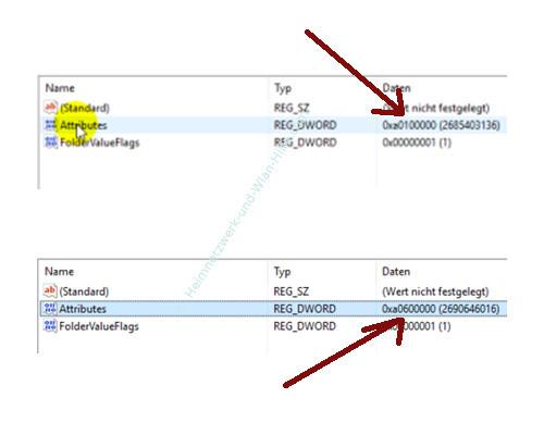 Windows 10 - Gesperrte Registry-Einträge mit Regownershipex ändern – Der geänderte Wert eines gesperrten Schlüssels