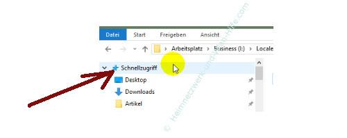 Windows 10 - Gesperrte Registry-Einträge mit Regownershipex ändern – Der Schnellzugriff im Datei-Explorer