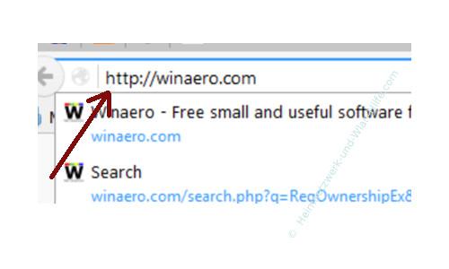 Windows 10 - Gesperrte Registry-Einträge mit Regownershipex ändern – Winaero.com im Browser öffnen