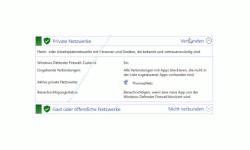 Windows 10 Tutorial - Mit dem Antivirenprogramm Windows Defender ein sicheres System konfigurieren! - Überblick über aktuelle Sicherheitseinstellungen der privaten und öffentlichen Netzwerke