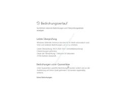Windows 10 Tutorial - Mit dem Antivirenprogramm Windows Defender ein sicheres System konfigurieren! - Übersicht über den Bedrohungsverlauf und die letzten Sicherheitsüberprüfungen