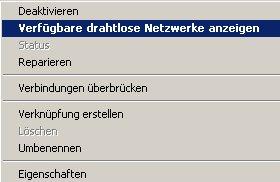 Wlan-Netzwerk Tutorial: Eine Wlan-Verbindung mit einem fremden Wlan-Netzwerk aufbauen! Netzwerkverbindung auswählen und markieren - Verwaltung Wlan Netzwerkverbindungen
