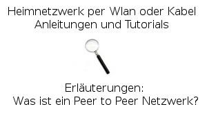 Was ist ein Peer to Peer Netzwerk?