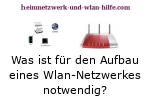 Was ist für den Aufbau eines Wlan-Netzwerkes notwendig?