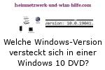 Windows 10 Tutorial - Welche Windows-Version versteckt sich in einer Windows 10 DVD?