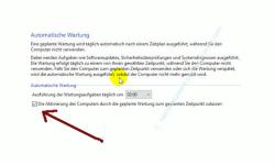 Die Windows 10 Systemfunktion Automatische Wartung anpassen – Aktivierte Automatische Wartung