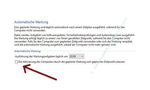 Die Windows 10 Systemfunktion Automatische Wartung anpassen – Deaktivierte Automatische Wartung