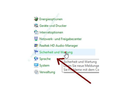 Die Windows 10 Systemfunktion Automatische Wartung anpassen – Der Systemsteuerungspunkt Sicherheit und Wartung