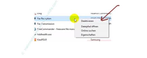 Windows 10 - Den Systemstart beschleunigen – Den Autostart einer Anwendung deaktivieren