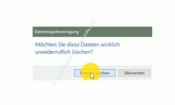 Windows 10 Datenträgerbereinigung – Botton Dateien löschen
